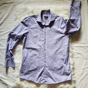 Hugo Boss Marley Sharp Fit Check Dress Shirt